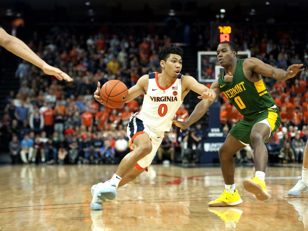 Sophomore guard Kihei Clark was a key force on both sides of the ball against Vermont, scoring 15 points and posting three rebounds on the night.