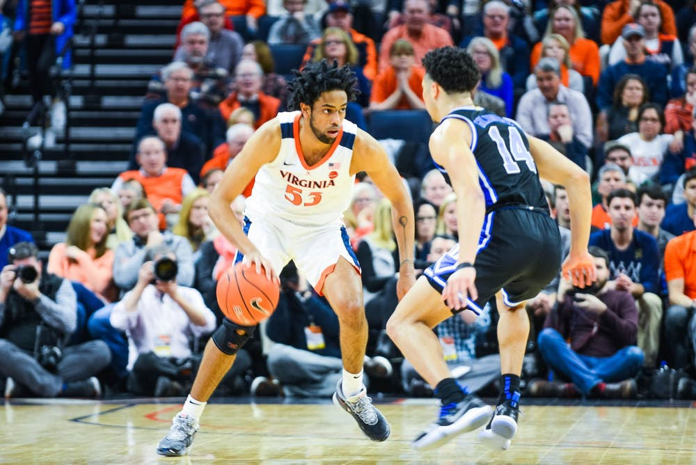 <p>Senior guard Tomas Woldetensae has found his shooting stroke as of late, sinking 55 percent of his three-point attempts across the last three games.&nbsp;</p>