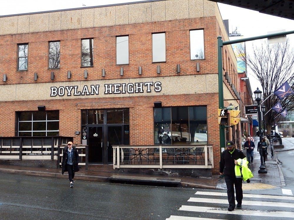 <p>Boylan Heights is down the street from Trinity Irish Pub on University Ave.&nbsp;</p>