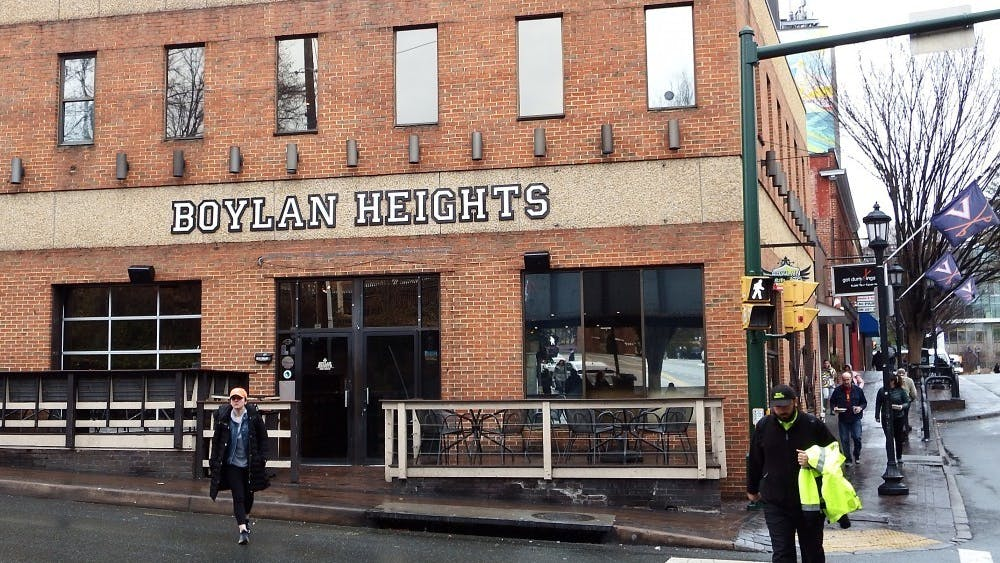 Boylan Heights is down the street from Trinity Irish Pub on University Ave.