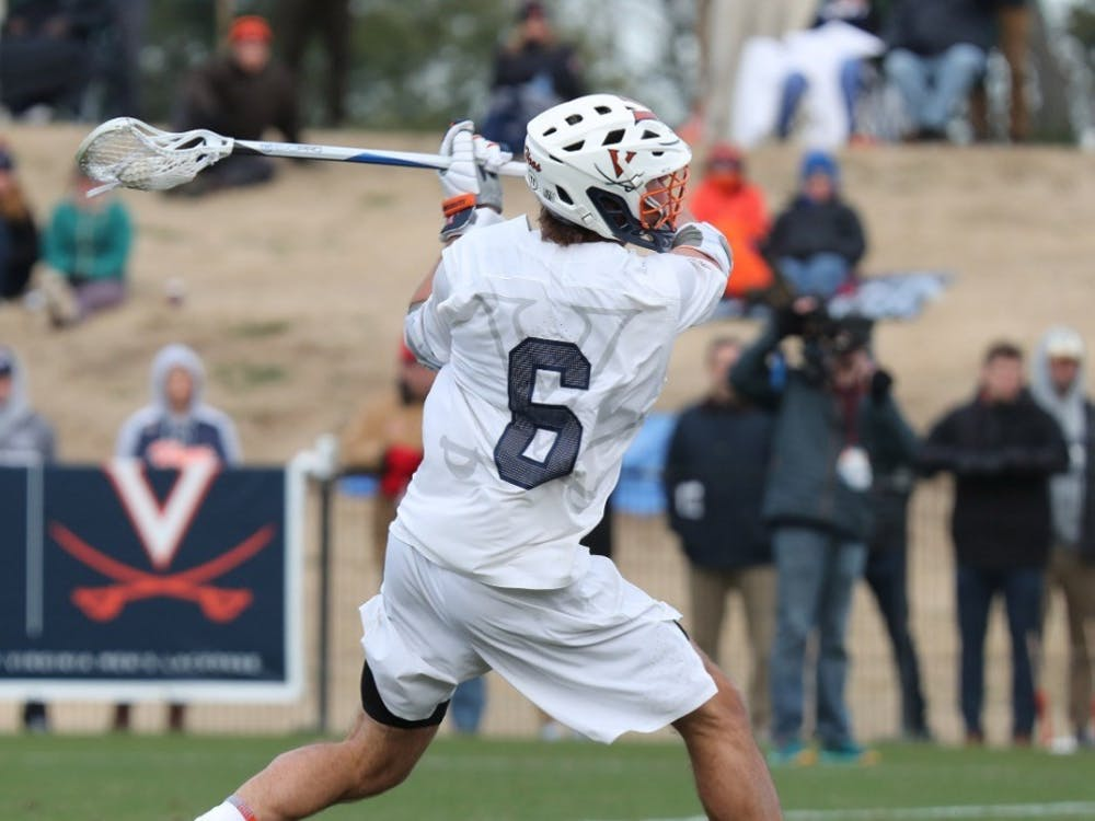 Dox Aitken was one of the seven Cavalier to score against Lehigh.