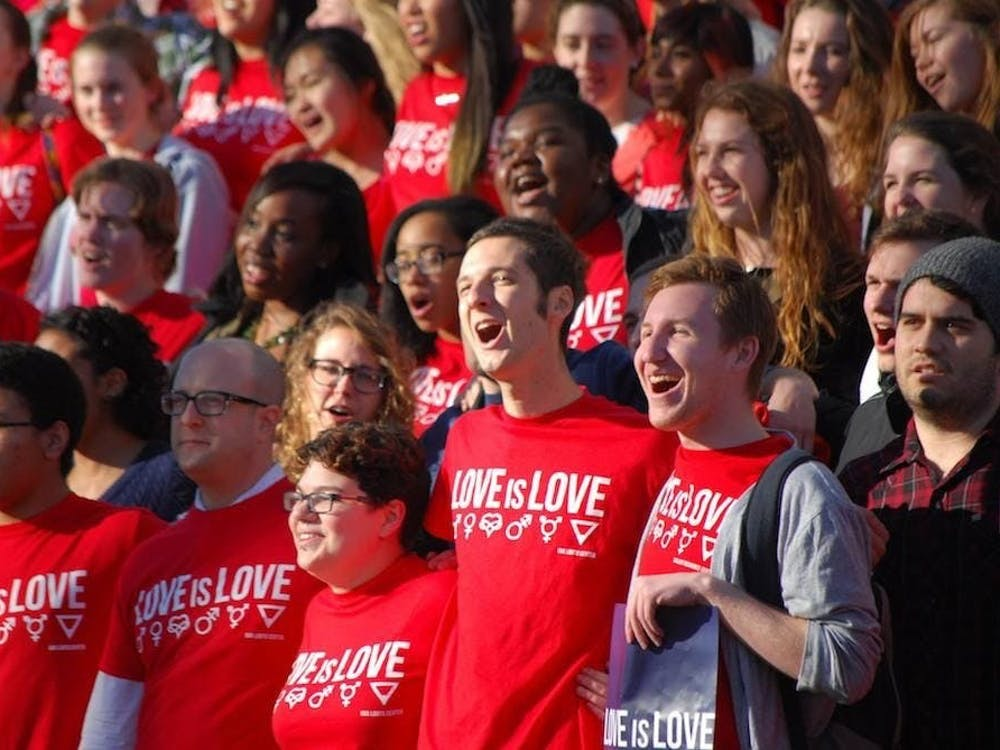 "One of the most fulfilling celebrations of this holiday at the University is the ""Love is…"" campaign."