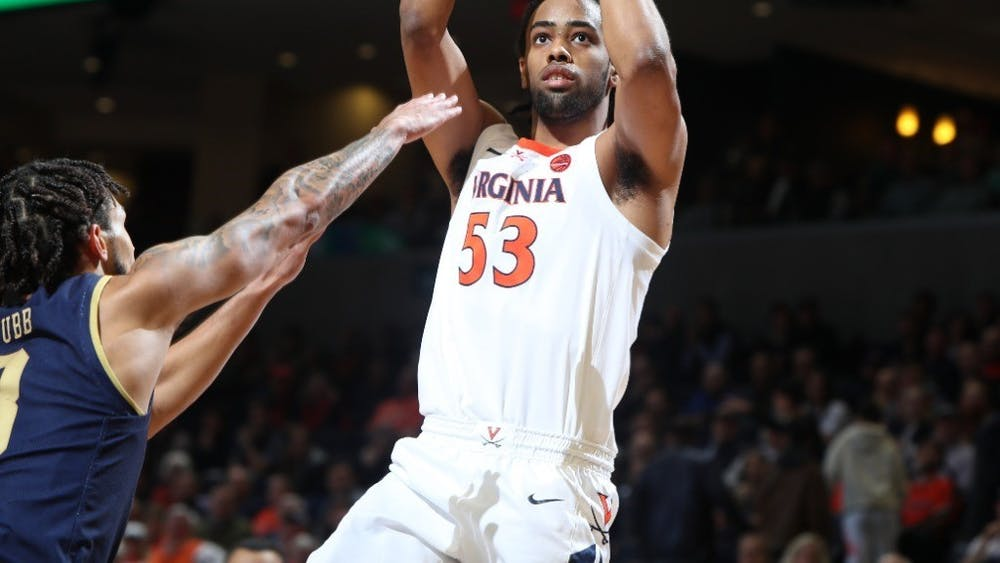 Junior guard Tomas Woldetensae led Virginia with 18 points and was 6-for-10 from behind the arc against North Carolina.