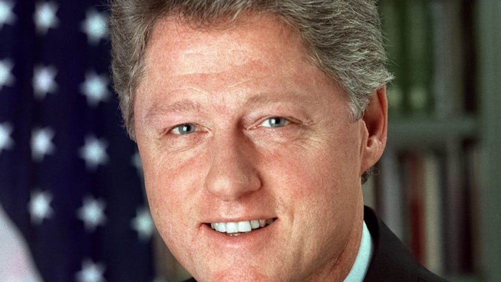 The last time Clinton visited the University was in 1989.