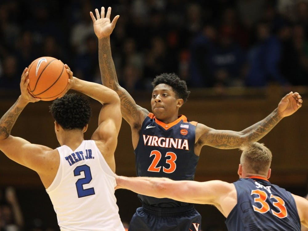 Graduate transfer guard Nigel Johnson is averaging 5.5 points and 2.0 rebounds per game this season.