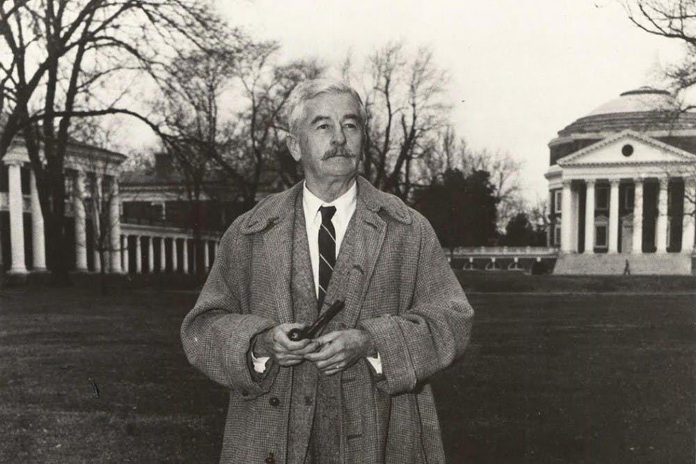 <p>A new exhibition at the Small Special Collections Library explores the life of esteemed writer&nbsp;William Faulkner.</p>