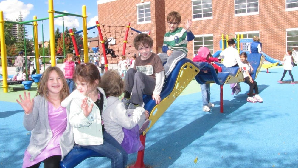 Being cooped up inside poses a number of health risks for children.