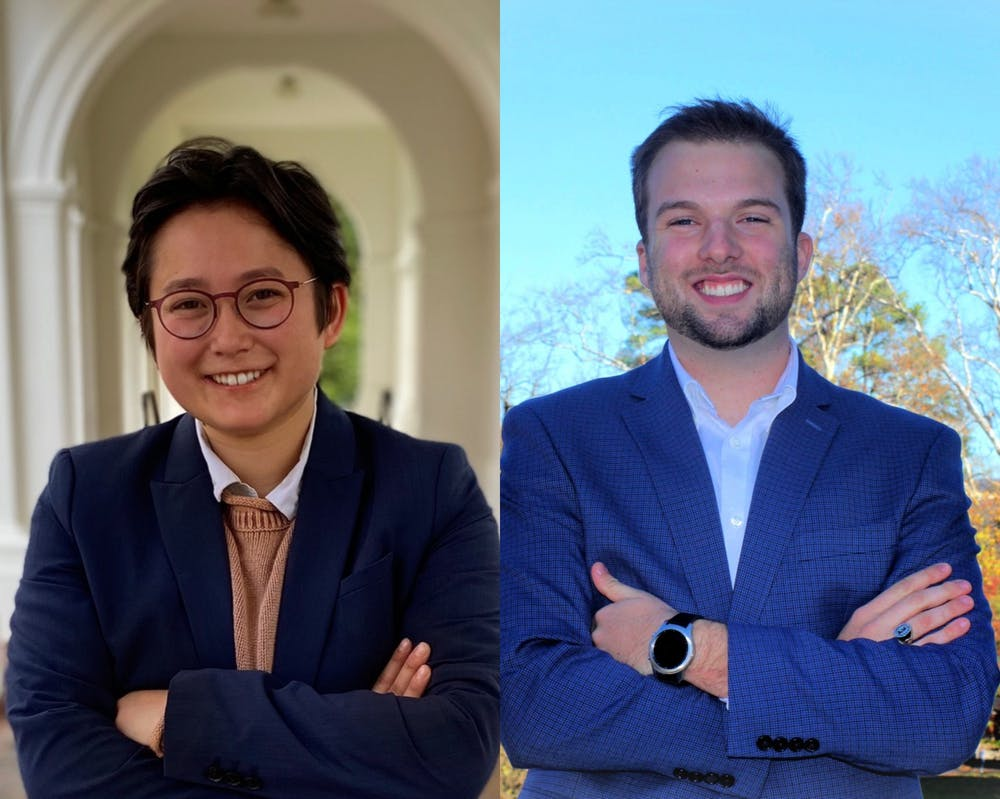 <p>Oxley is campaigning as a solo candidate while Liu is on the same ticket as uncontested candidates third-year College Cecilia Cain, who is running for vice president for administrations and second-year College student Ryan Cieslukowski, who is running for vice president for organizations.&nbsp;</p>