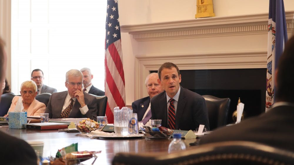 The University's Board of Visitors discussed the strategic plan Friday.