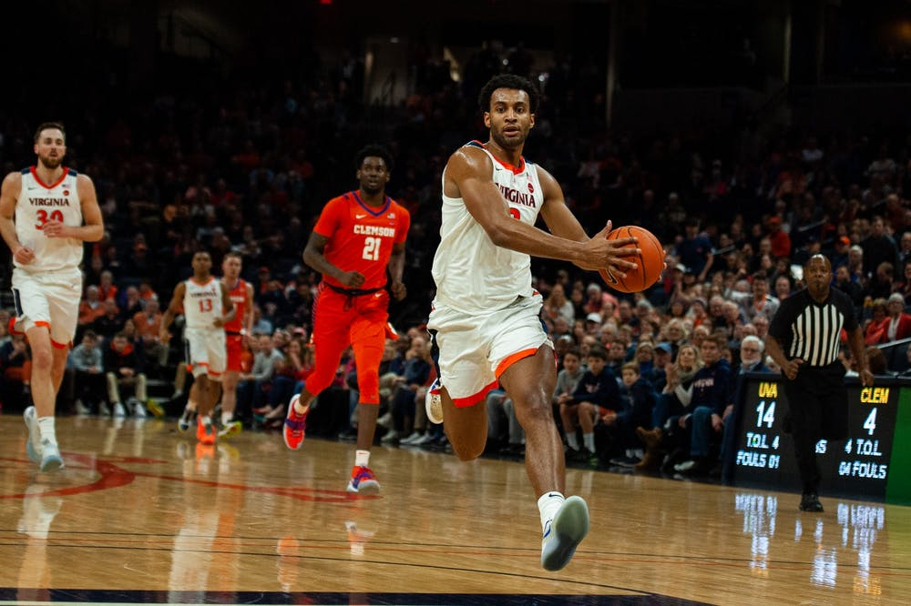 <p>Senior guard Braxton Key put the Cavaliers on his back in the final minutes of Wednesday's contest, scoring nine points in the final 4:50.&nbsp;</p>
