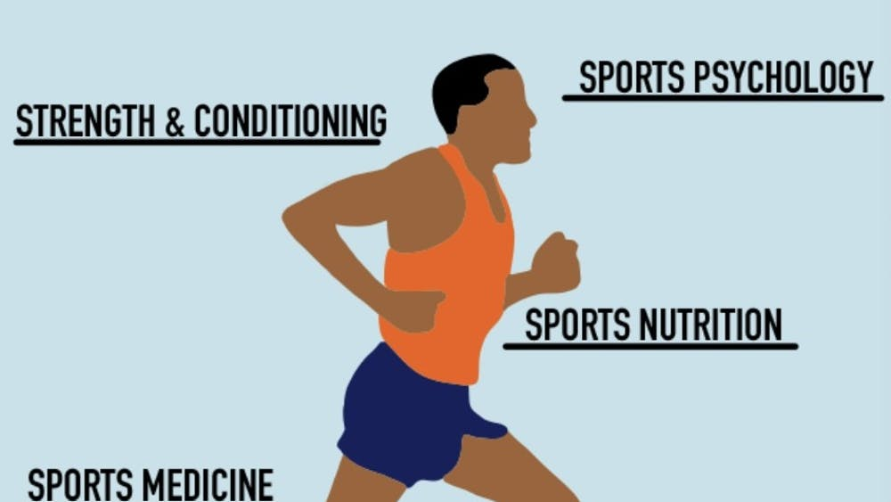 Virginia Athletics' doctors, trainers, nutritionists and psychologists cover every aspect of student-athlete wellness.