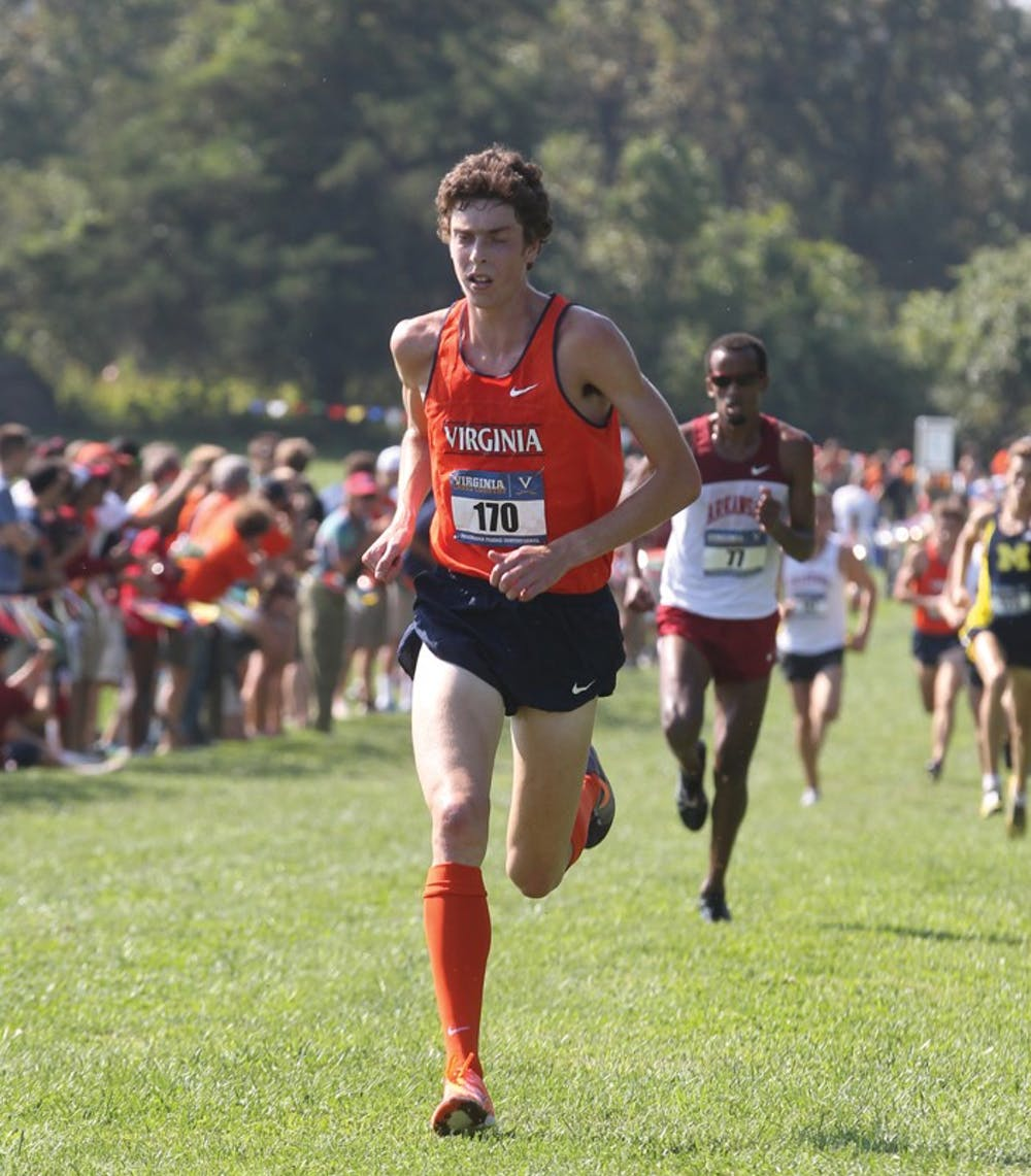 The University of Virginia cross country men's and women's team competed in the UVa/Panorama Farms invitational cross country race held Saturday September 22, 2012 in Charlottesville, VA. . Photo/Andrew Shurtleff