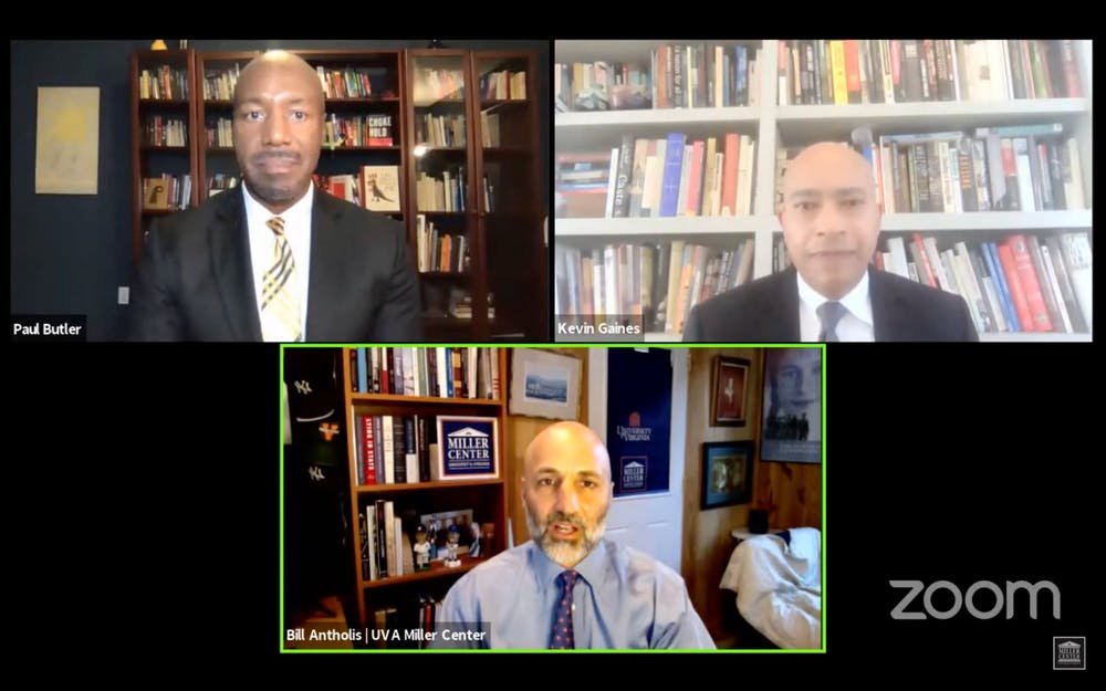 <p>Paul Butler, African American and African Studies professor, was joined by Kevin Gaines, Georgetown University law professor and legal analyst on MSNBC, for the discussion.</p>
