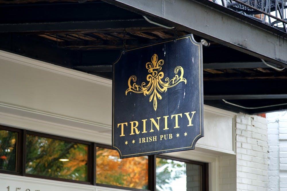 <p>On Thursdays, Trinity Irish Pub offers $3 burgers and chips.&nbsp;</p>
