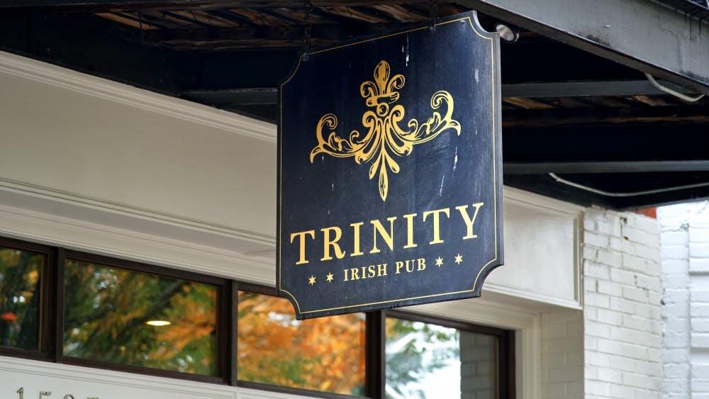 On Thursdays, Trinity Irish Pub offers $3 burgers and chips.
