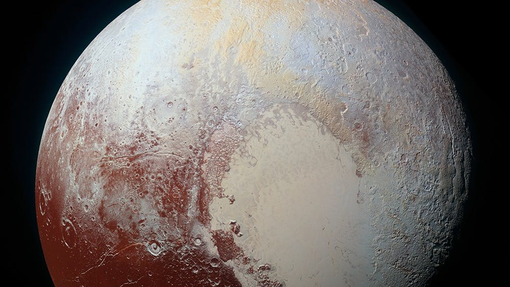 TheNew Horizons Missioncompleted the first ever flyby of Pluto this past July, and providedthe first clear image of the dwarf planet.