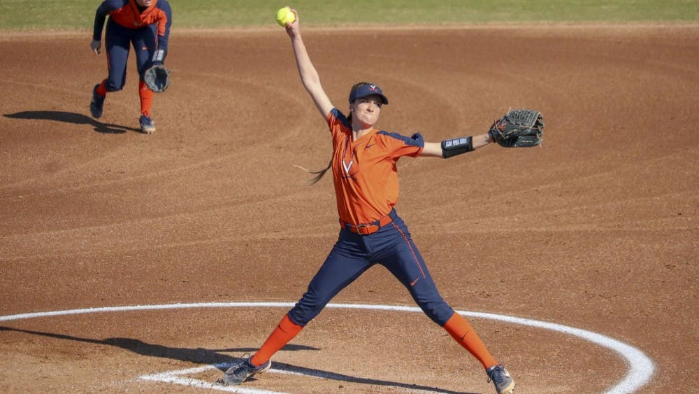 <p>Despite freshman pitcher Aly Rayle's best efforts, the Cavaliers came up short against the Flames Tuesday.</p>
