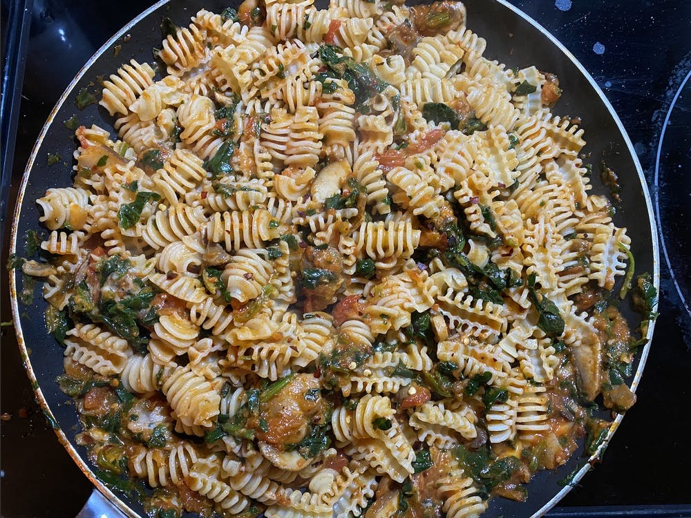 This pasta recipe is delicious home-cooked pasta at its best.