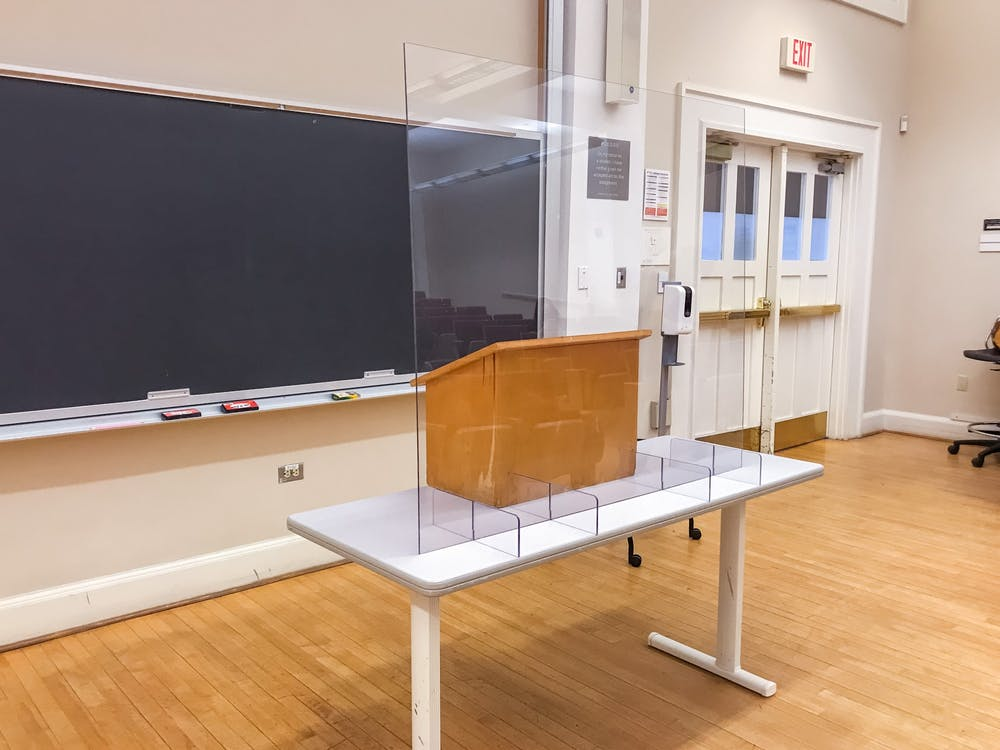 <p>A CDC study published in May looked at transmission prevention strategies in schools and found barriers between students proved to be the least effective method tested.&nbsp;</p>