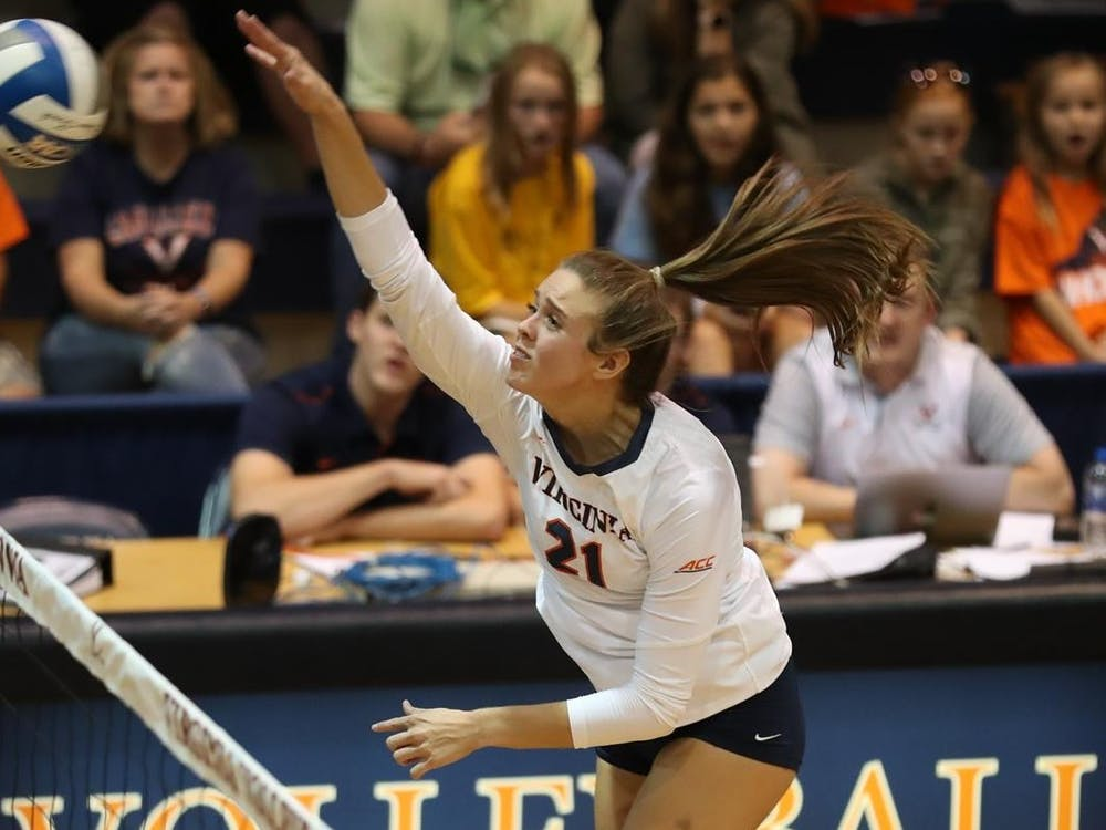 Junior outside hitter Sarah Billiard had a strong weekend, with 19 kills across two matches.