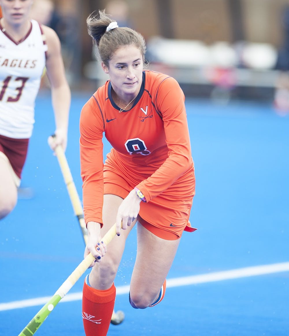 <p>Junior midfielder Tara Vittese had a hand in all four Cavalier goals in the 4-1 win against Richmond.</p>