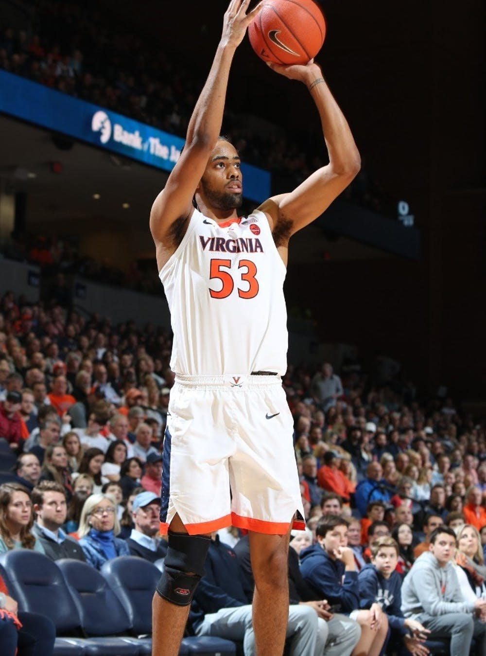 <p>Junior guard Tomas Woldetensae was a major force on Virginia's offense against Louisville, sinking seven threes and scoring 27 points in the contest.&nbsp;</p>
