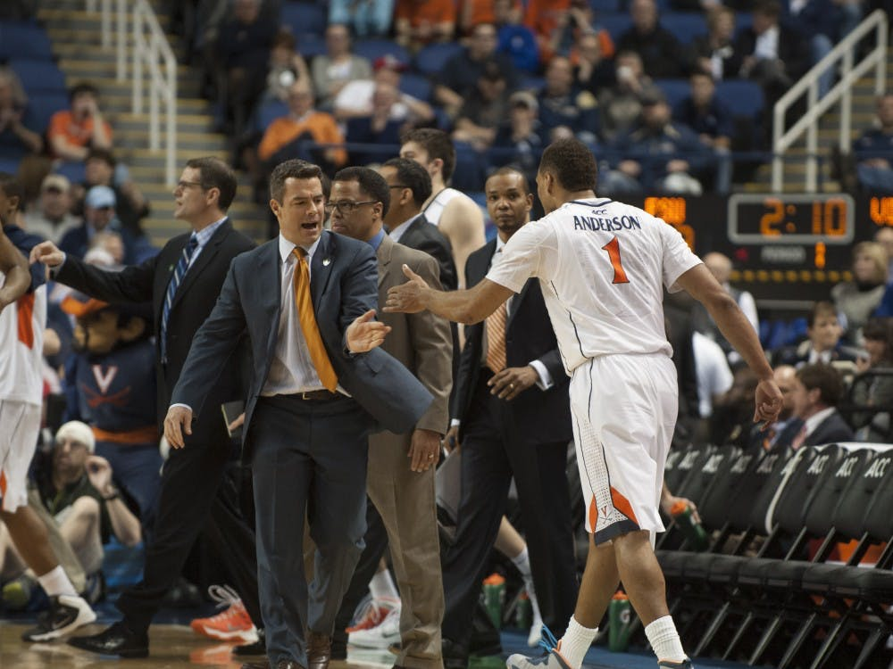 Coach Tony Bennett and the Cavaliers are on the verge of becoming the first Virginia team to win the ACC Tournament since 1976.