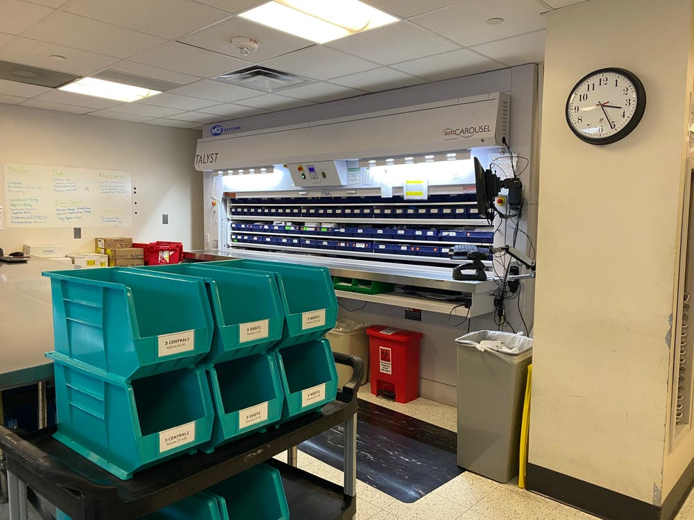 <p>Student pharmacy technicians' constant exposure to shifting trends in COVID-19 cases has inspired their increased awareness and concern for the University community.&nbsp;</p>