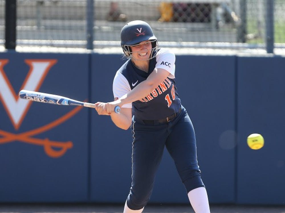 Sophomore Aimee Chapdelaine has pitched 103.2 of Virginia's 178.2 innings in the field in 2014. The Cavaliers play Longwood in a road doubleheader Wednesday.