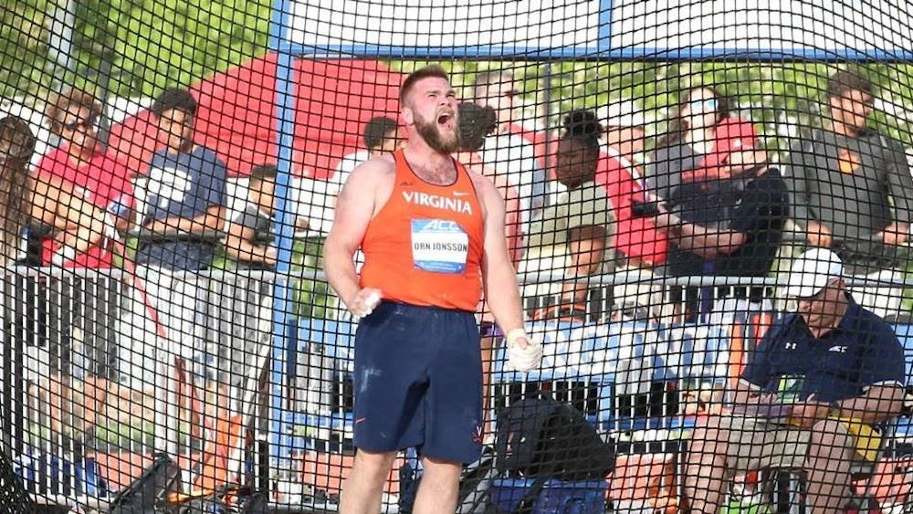 Senior Hilmar Jonsson became the first hammer thrower in the ACC to complete the collegiate sweep after he won his fourth consecutive hammer throw title.
