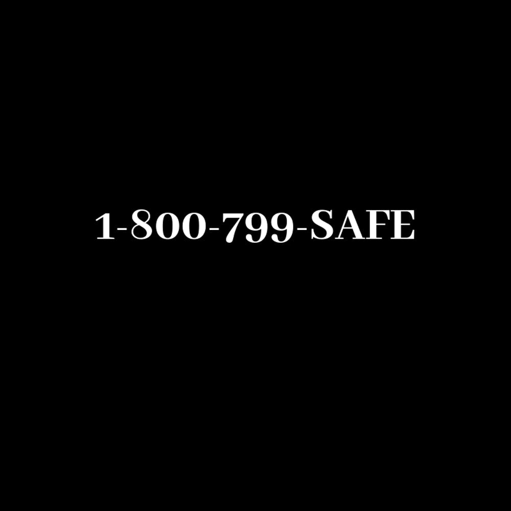 <p>In a moment emblematic of respect for abuse victims, the docuseries shows the National Domestic Violence Hotline, bold in simple white on a black background. &nbsp;</p>