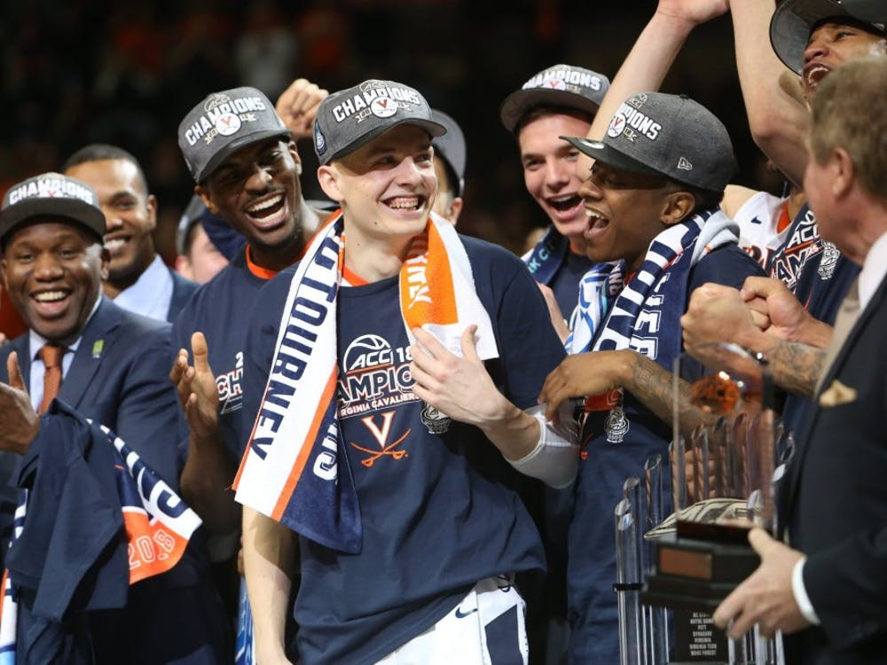 Kyle Guy was named the 2018 ACC Tournament's Most Outstanding Player. He was Virginia's leading scorer in each of the team's games this tournament.