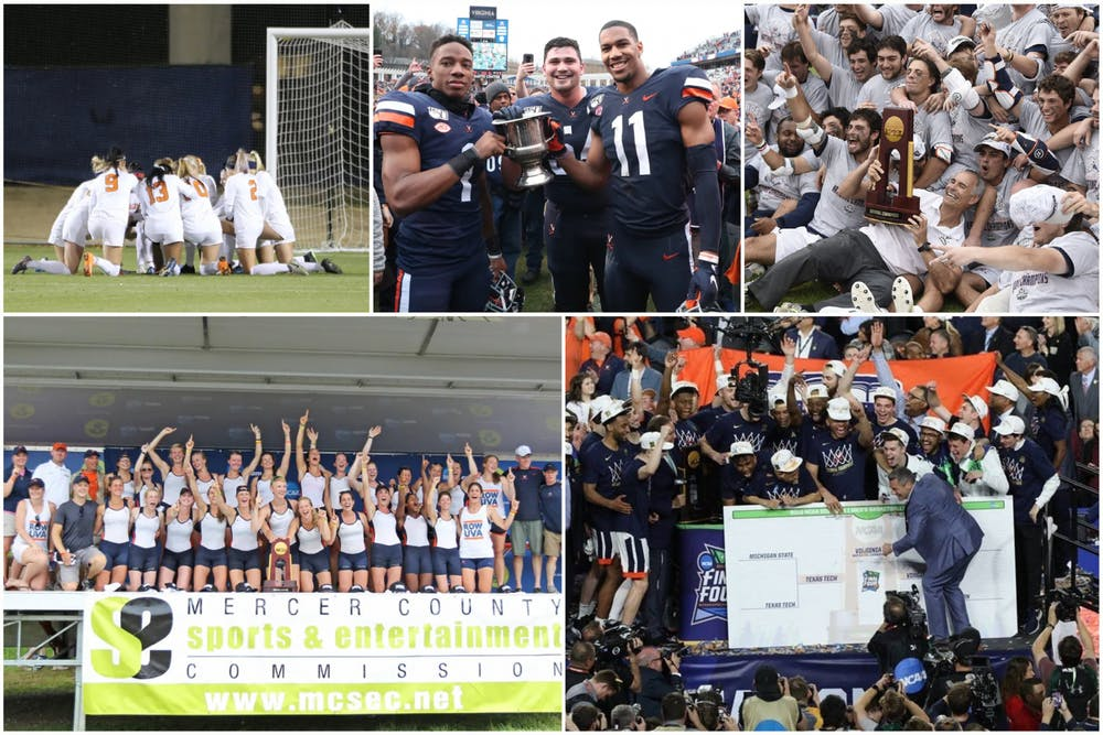 <p>Some of Virginia's best comebacks have eventually resulted in hardware for the Cavaliers.&nbsp;</p>