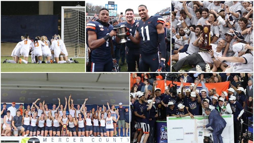 Some of Virginia's best comebacks have eventually resulted in hardware for the Cavaliers.