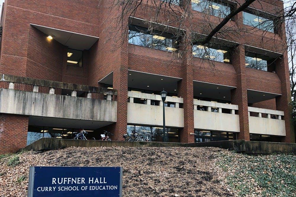 <p>Ruffner Hall opened in 1974</p>