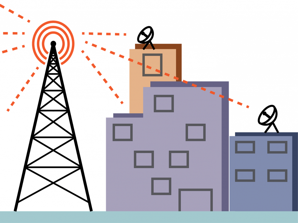 The fifth-generation network, or 5G, is a wireless platform that increases connection speeds and uses a different part of the electromagnetic spectrum.