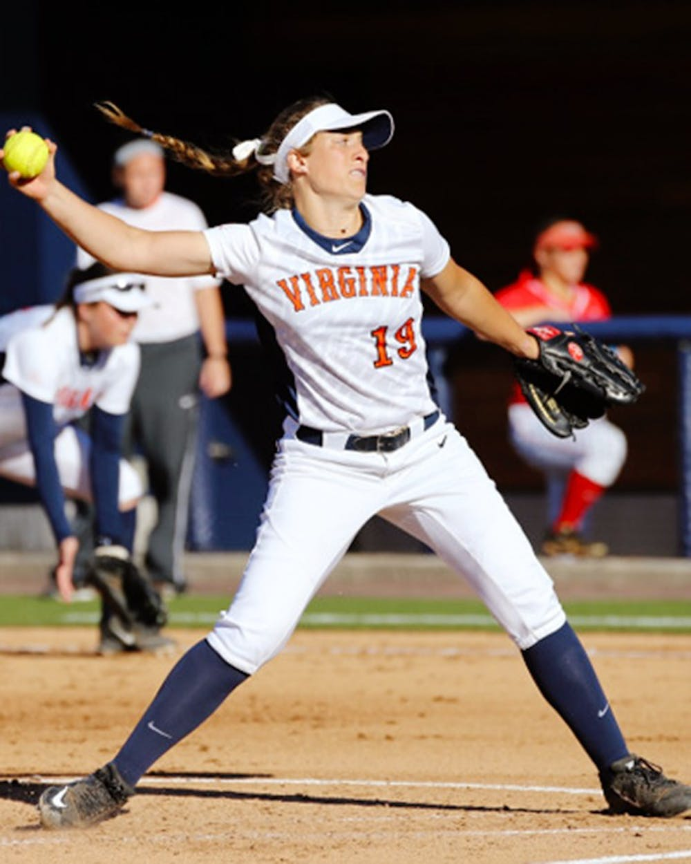<p>Freshman pitcher Erika Osherow tossed a complete game shutout, allowing only three hits  in game one of a doubleheader Saturday. The Cavaliers defeated Georgia Tech 6-0 to set the tone for a series win in Atlanta. </p>