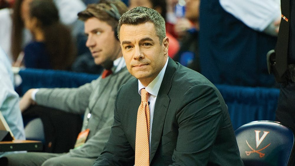 Coach Tony Bennett and Virginia would face six teams in a national championship run.