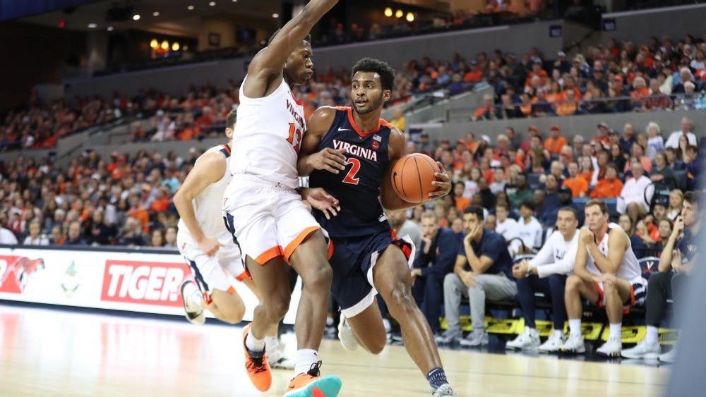 Braxton Key's great driving ability can open up the perimeter for Virginia's shooters and put pressure on interior defenders.