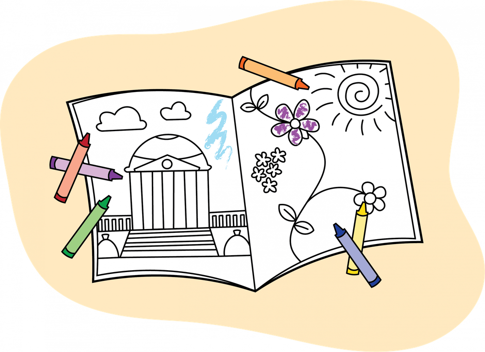 Try a new hobby — like drawing — in the time between your remote classes.