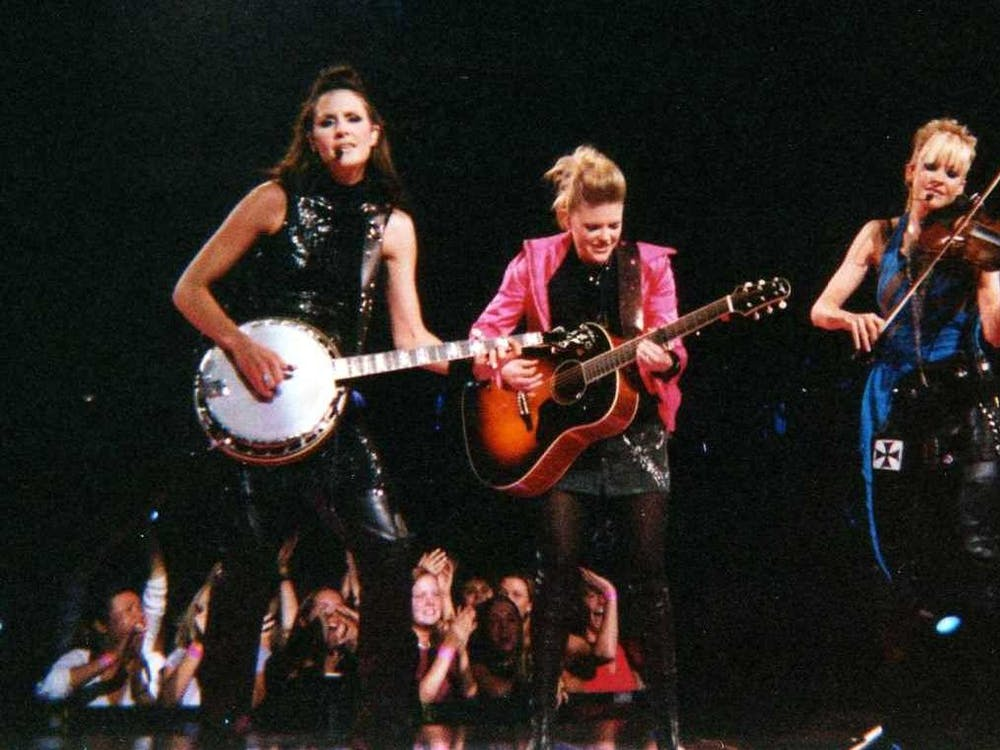The Dixie Chicks, pictured here in 2003, are among the list of exciting artists who have promised new albums in 2020.