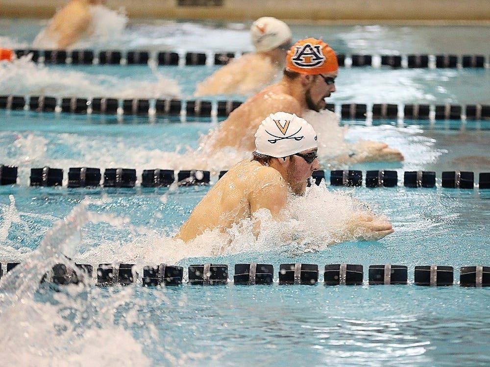 The men's and women's swimming teams both defeated their ranked Auburn counterparts, as they enter a grueling ACC schedule.