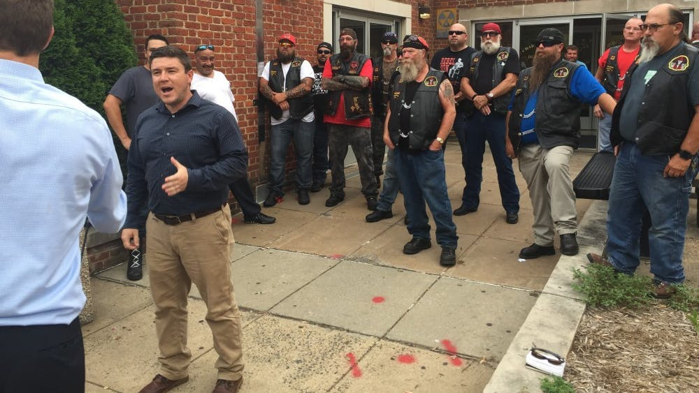 Jason Kessler held a press conference Wednesday where he said the counter-protesters at the KKK rally spurred police use of tear gas.