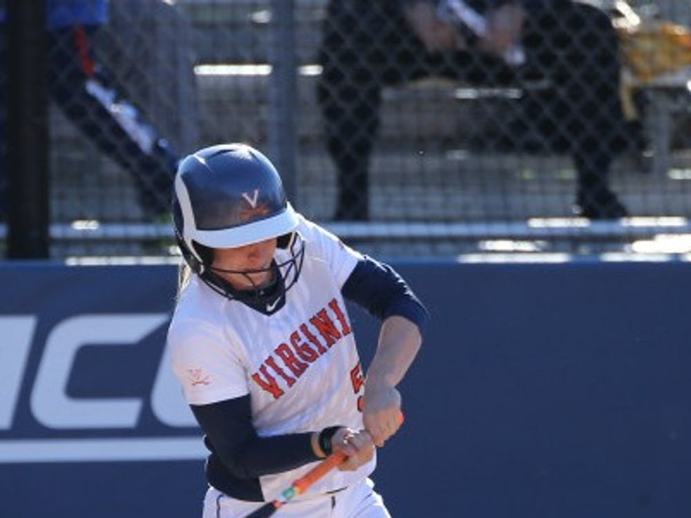 Junior outfielder and pitcher Allison Davis currently leads the Cavaliers with her batting average of.388.
