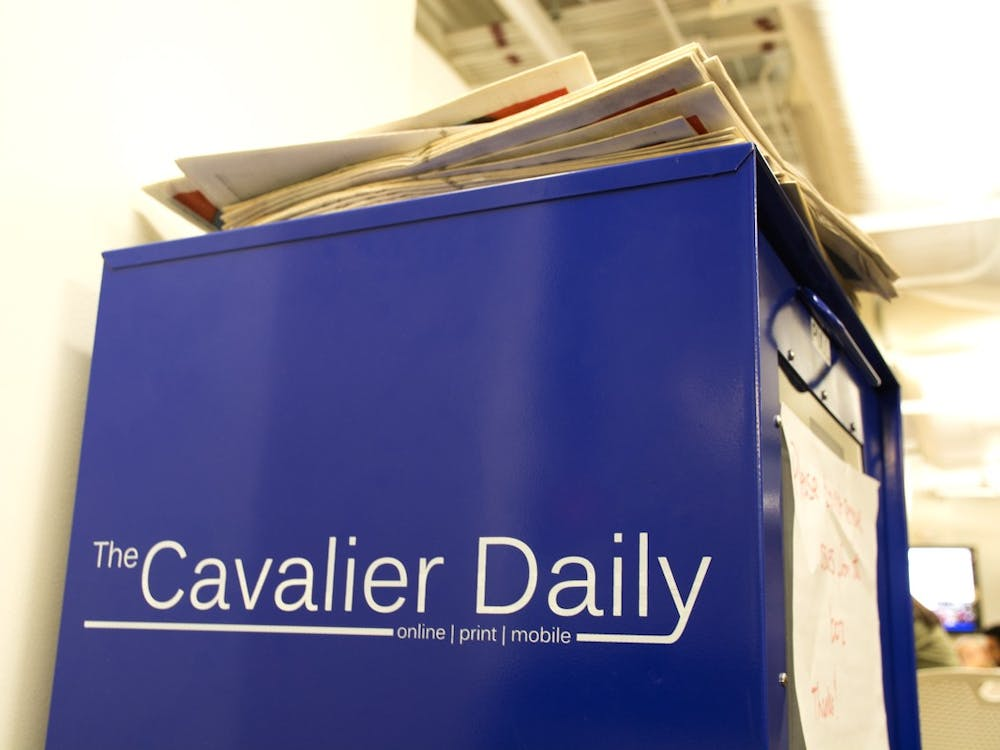 Timothy B. Wheeler served as Editor-in-Chief for The Cavalier Daily in 1973-74.