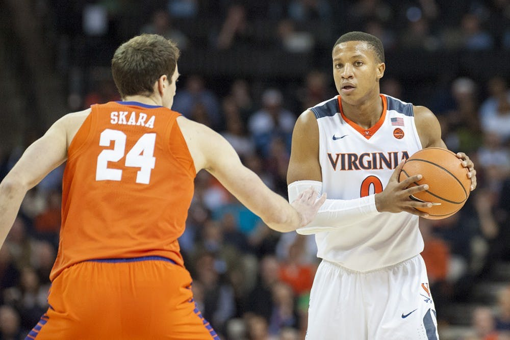 <p>After never playing a game his first year, Devon Hall went on to be a leader for the Virginia men's basketball team.</p>