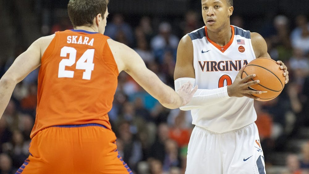 After never playing a game his first year, Devon Hall went on to be a leader for the Virginia men's basketball team.