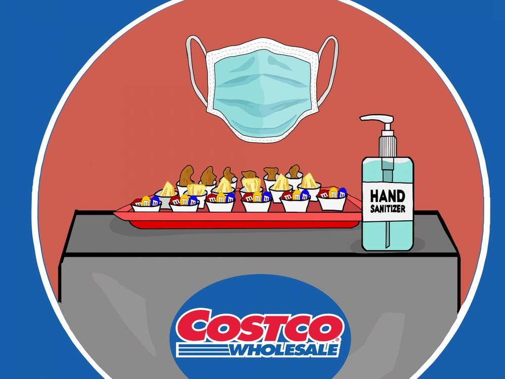 As Costco is a wholesale-style store, it is the best way to stock up on the most food and keep your time spent in public to a minimum.