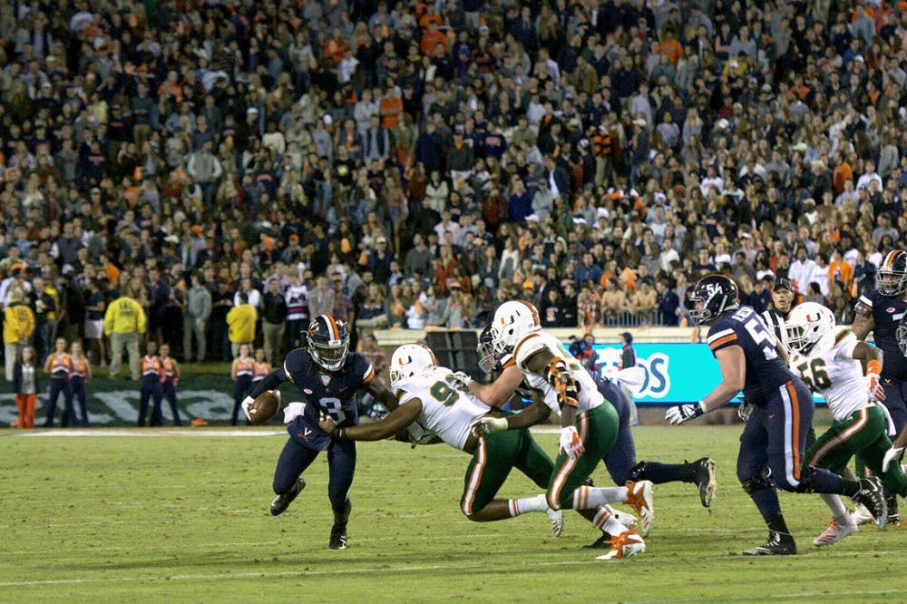 <p>Ting Wi-Fi did not work throughout the Saturday game, in which Virginia upset Miami 16-13.&nbsp;</p>