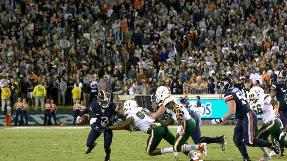 Ting Wi-Fi did not work throughout the Saturday game, in which Virginia upset Miami 16-13.